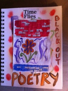 Blackout Poetry Page